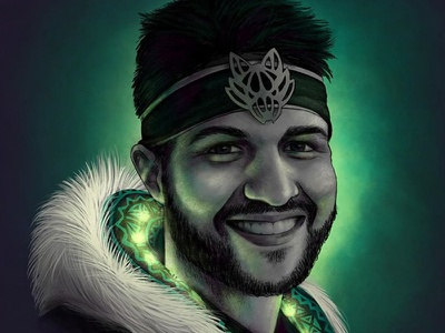 My Favorite halloween bright glow wolf costume rave green led neon husband