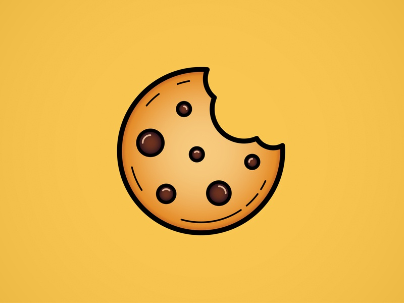 National Chocolate Chip Cookie Day chocolate chip cookie cookies chocolate chip cookie illustrator vector illustration