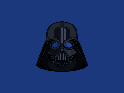 Darth Vader death star imperial storm trooper jedi star wars darth vader illustrator vector illustration