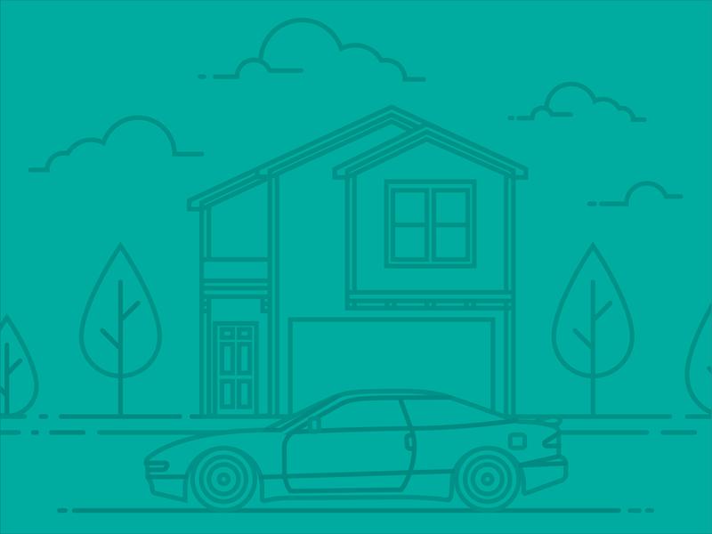 Ford Probe GT daily driver ford probe ford car art car illustrator vector illustration