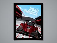 Mazda Road America Poster