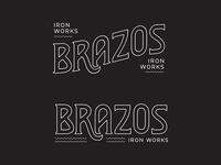 Brazos Iron Works | Concept 1