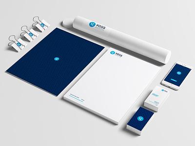 Voss Creative Branding developer app agency design identity creative voss branding