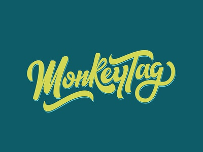 Type Exploration 02 | MonkeyTag design lettering monkeytag exploration type
