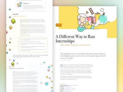 V9.0 Case Study - Internships grid layout typography clean launch portfolio motion responsive design mobile landing page website redesign