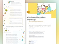 V9.0 Case Study - Internships