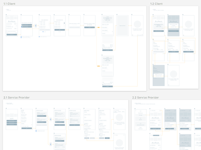 GJ - Wireframes #3 test product product design web app admin flow mobile app user testing prototyping ui ux wireframes
