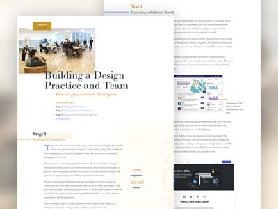 V9.0 Case Studies grid layout typography clean portfolio archive motion responsive design mobile landing page website redesign