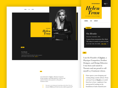 V10.0 Homepage clean grid landing page launch mobile redesign responsive design typography website responsive layout blog
