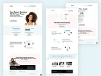 Beta 2.0 - Jupiter Launch product page product marketing minimal marketing website landing page clean typography art direction
