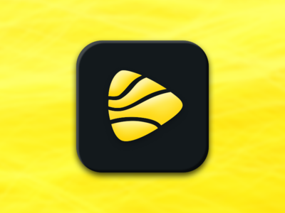 Binder Studio - App Icon tracks player music android logo design logo app app icon icon