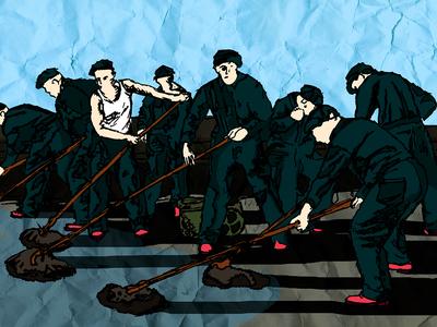 The Shawshank Redemption - Illustration graphic photography drawing illustration