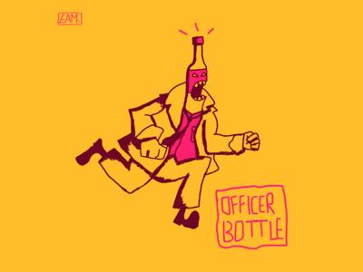 Officer Bottle 2