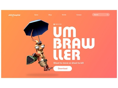 Umbrawller - Game Project
