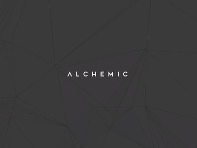 Alchemic logo mark brand direction brand designer branding concept branding design identity design idenitity identity logo logo designer type designer art direction typography design vector branding visual design creative direction