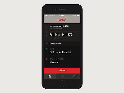 Nasa Timetravel App app travel time nasa