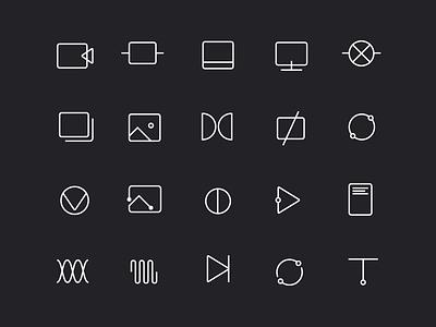 Bose Dream+Reach Icons set reach dream icons bose