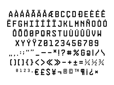 Construct design typography type construct