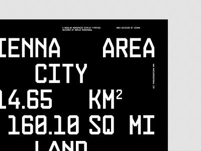Construct II typography specimen type construct