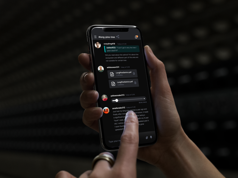 Mumble Mobile App