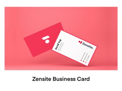 Zensite Business Card