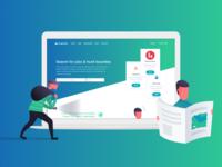 Hungrytech Landing Page