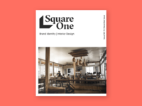 Magazine Cover for Square One
