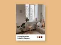 Interior design e-magazine cover