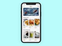 Food Menu for iOS