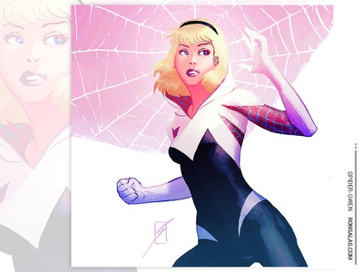 Spider-Gwen comics superhero marvel comics spider-man gwen stacy spider-gwen