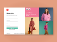 Uniqlo U sign Up
