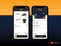Mastercard Credit Card Checkout