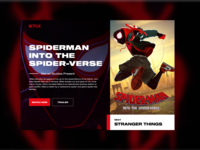 Spiderman Info Screen