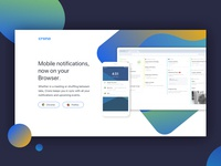 Mobile notifications on your browser!