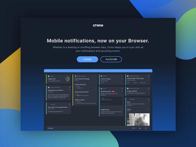 Crono Website Redesign