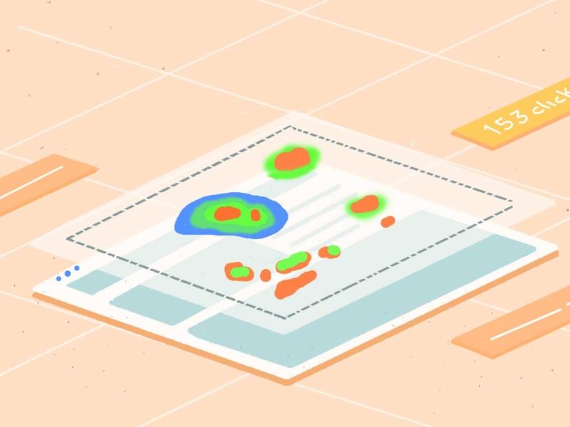 heatmaps examples mobile graphic website illustration ab testing vwo heatmap
