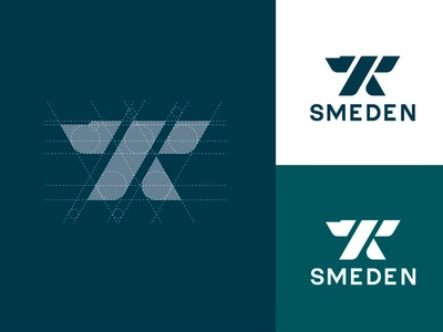 ⚒Smeden = Blacksmith ⚒ illustration icon typography vector branding design