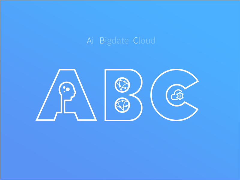 ABC big data artificial intelligence cloud