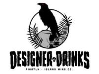 AIGA TLH - OCT. Designer Drinks logo