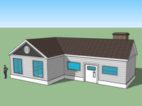 Sketch Up - House build