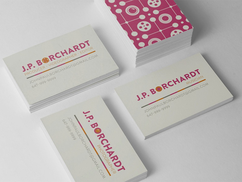 Videographer business cards by maddie hewson dribbble untitled 1 colourmoves