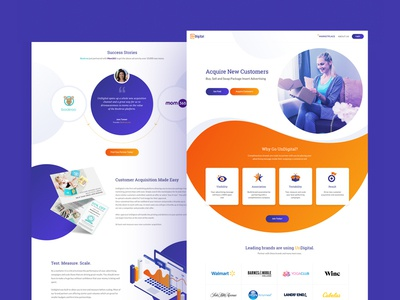 UnDigital Website Design business shipping management creative  design landing page design website design