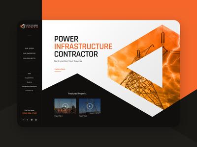 Voltage Power Homepage