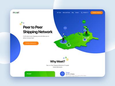 Peer to Peer Shipping Network