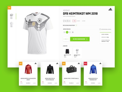 Philipp Team Sport - Product Details Page