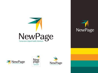 New Page logo & Branding Design