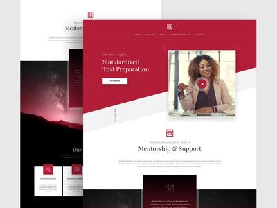 Landing Page Design -BS