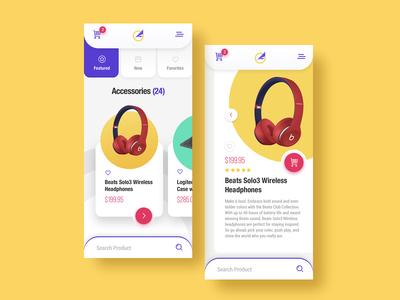eCommerce App Design - V2
