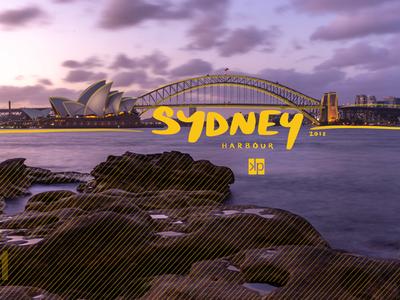 11 Sydney Harbour visual souvenirs travel sydney opera house photography photographic design sydney typography australia