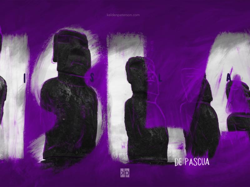 15 Isla de Pascua chile rapa nui moai easter island experimental design whereabouts project visual souvenirs photographic design travel photography typography